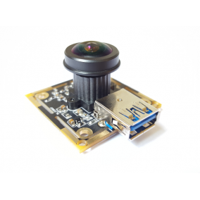 USB3.0 5MP Fisheye Lens Camera Module with Micron MI5100 Sensor