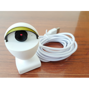Full HD 1080P USB web camera with 2 microphones