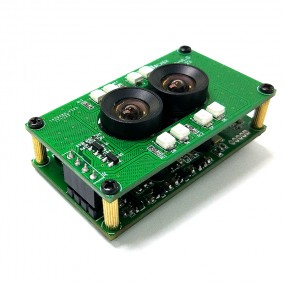 2MP, Day/Night Vision, Dual-lens 3D Stereo Camera Module with Omnivision OV2710 sensor