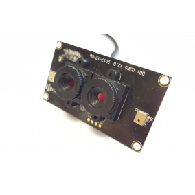 1MP Dual lens Stereo Camera Module with Omnivision OV9732 sensor