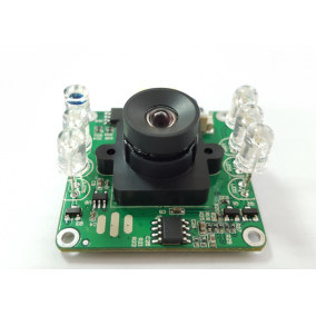 2MP Wide Dynamic Range Camera Module with 850nm IR-Cut Filter