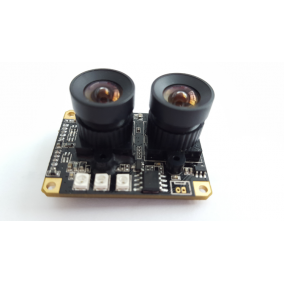 Small Dual lens Day & Night Vision Camera Module with AR0230 & AR0130 Sensors