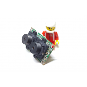 The smallest, stereo vision, 1MP, dual-lens USB2.0 camera module