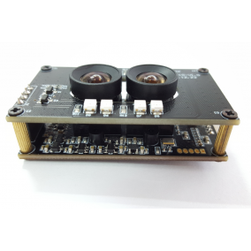 2MP, Day/Night Vision, Dual Lens 3D Stereo Camera Module with OV2710 sensor