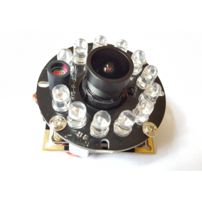 IR Cut Night Vision Camera Module with 1.3MP AR0130 CMOS sensor