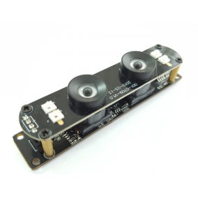 WDR Dual lens 2MP Camera Module for Robots, AI, Face Recognition, Vision