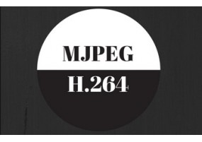 What is the difference between MJPEG and H.264?